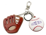Key Chain/Name Tag - Baseball