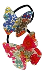 Liberty of London Butterfly Ponytail - Multi Red