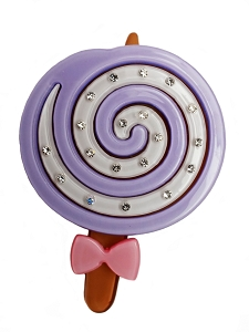 Lollypop Clip - Light Purple