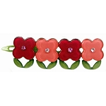 Flowerbed Clip - Red