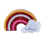 Rainbow Clip - Red