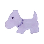 Scottie Dog Clip -  Lavender