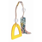 Liberty of London Boot and Stirrup Double Ponytail - Yellow