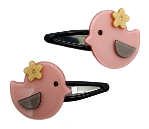 Birdy Snap Clip - Pink