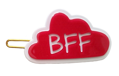 Bubble Talk BFF Hairpin