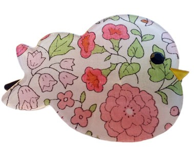 Liberty of London Bird Clip - Pink Floral